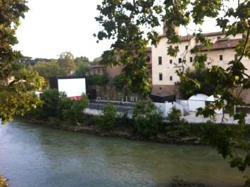 Cinema on the Tiber Island