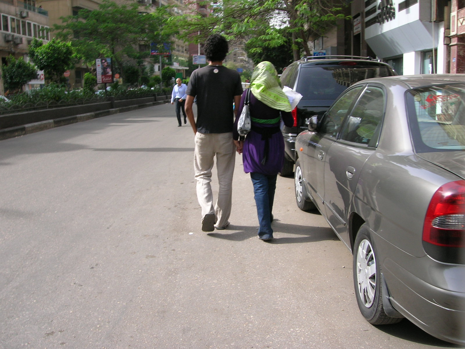 Young Couple in Cairo