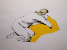 Christina. Charcoal and pastel on paper. Todmorden, 2016
