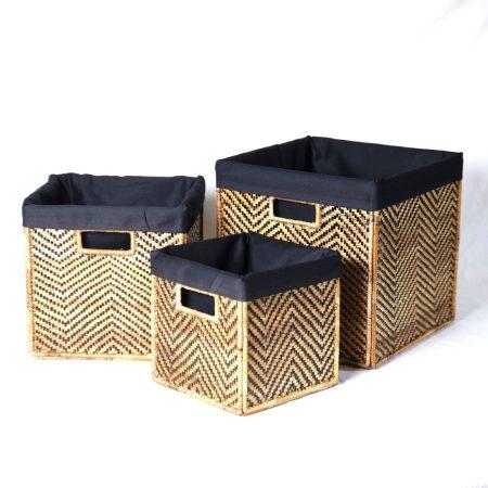 Banana Panel Nesting Cubes