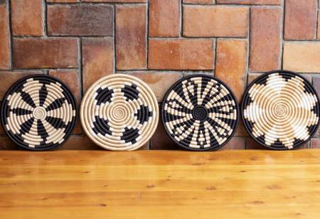 Woven Trivets- Tea & Black Collection