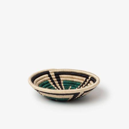 Akazi Bowl Small Hunter Green- Side