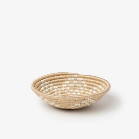 Bariku Bowl Small White - Side