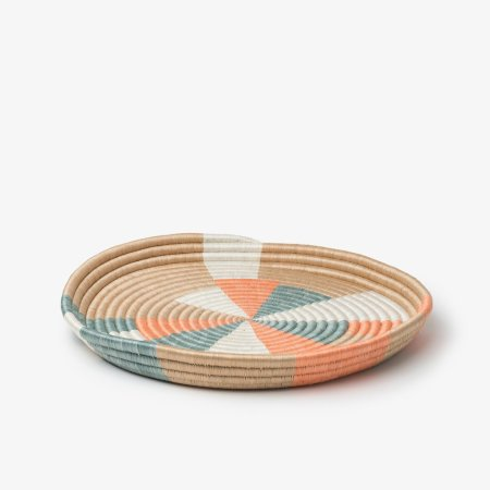 Prism-Large-Tray-Teal-Coral-Side