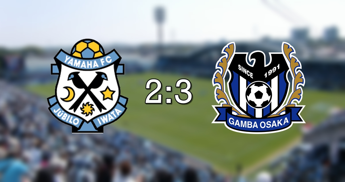 Jubilo 2-3 Gamba