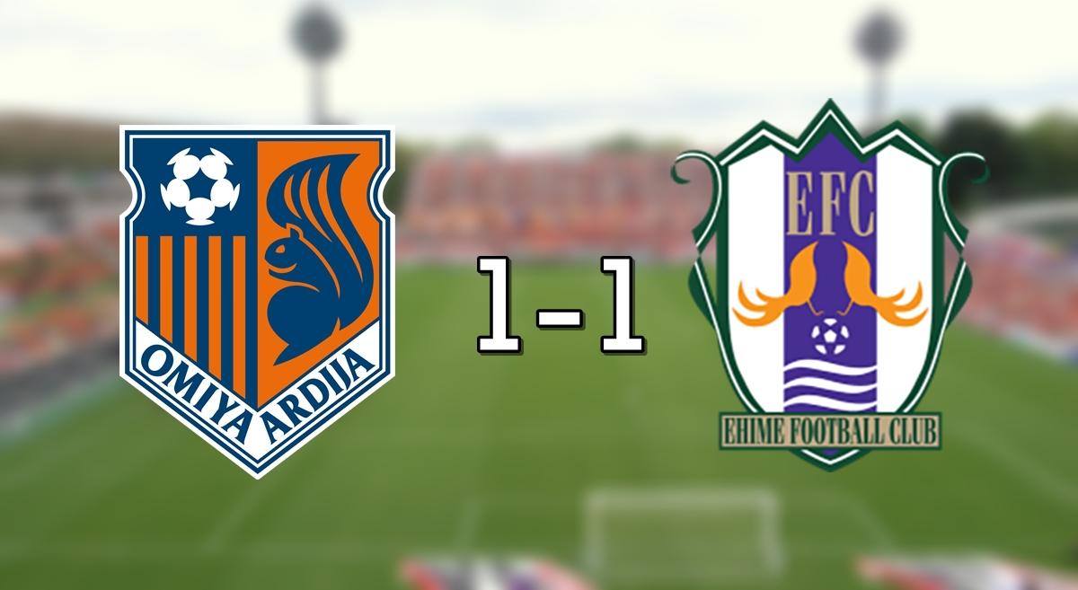 Omiya 1-1 Ehime