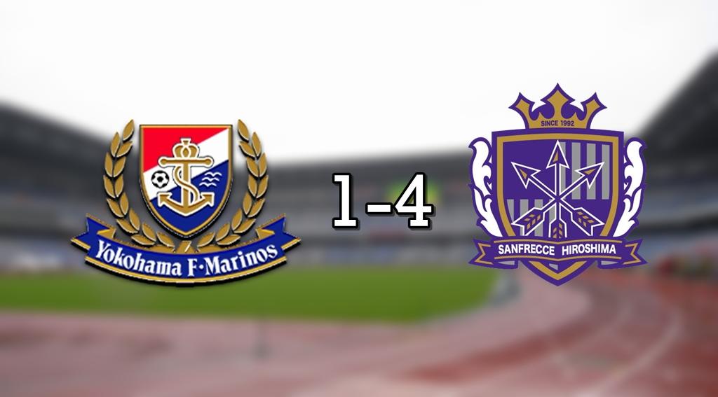Marinos 1-4 Hiroshima