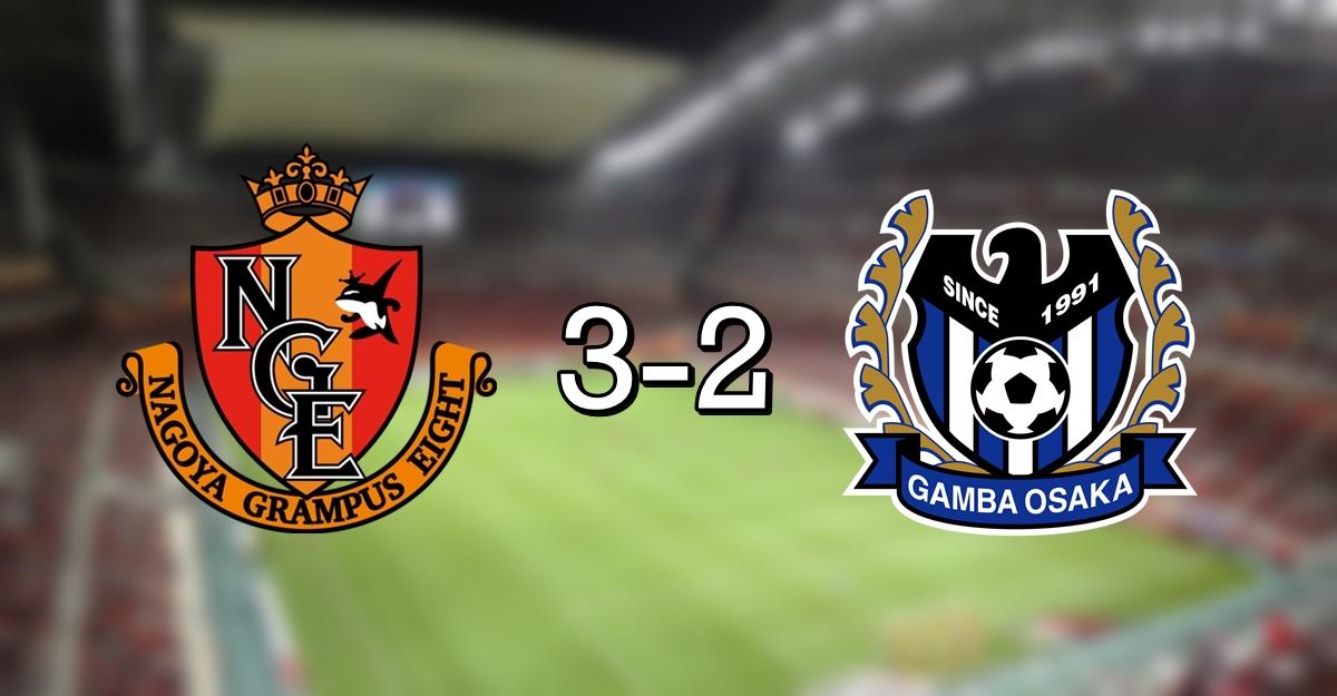 Nagoya 3-2 Gamba