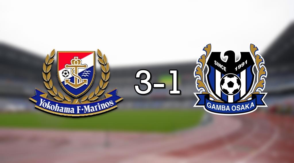 Marinos 3-1 Gamba