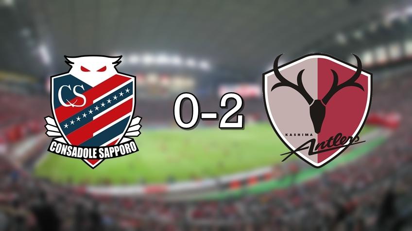 Sapporo 0-2 Kashima