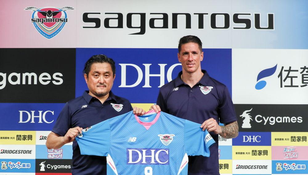 Spanish striker Fernando Torres joins Japan's J.League club, Sagan Tosu