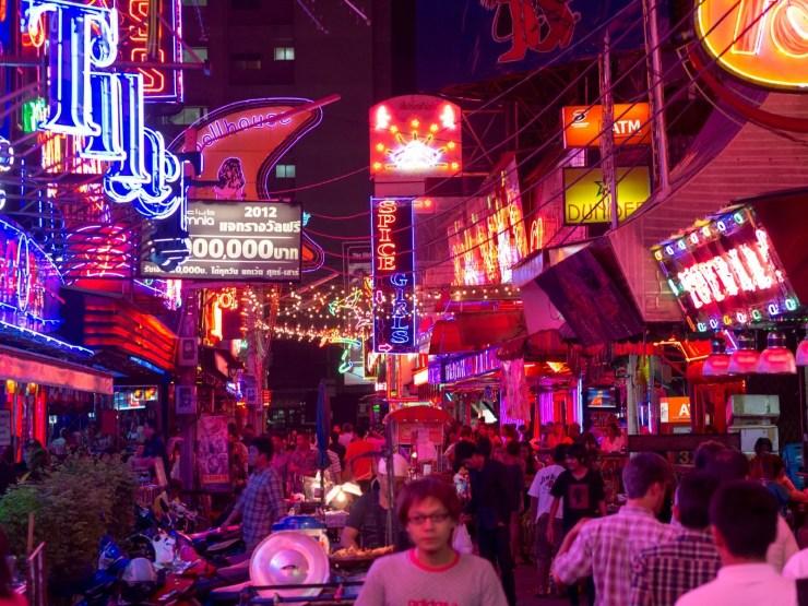 Soi Cowboy, Bangkok, Tajlandia