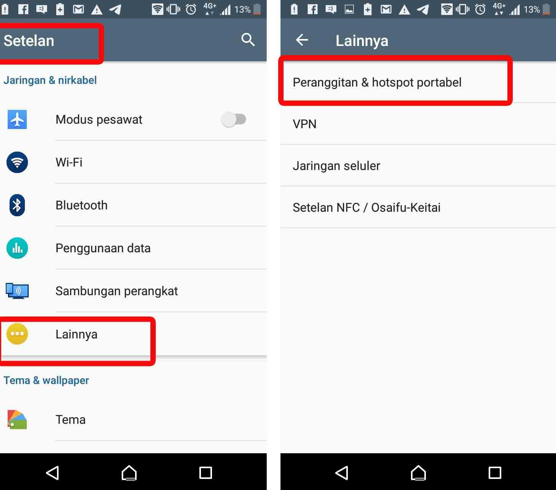 cara mengubah nama wifi androdi