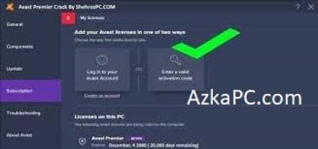 Avast Premier Crack 21.1.2452 + Serial Key Latest Version [2021]