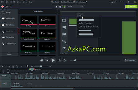 Camtasia Studio Crack 2020.0.16 + Activation Key Latest Version [2021]