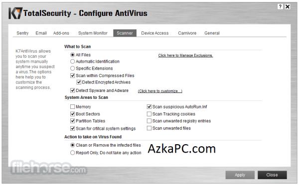 K7 Total Security 16.0.0524 Crack + Serial Key Latest Version [2021]