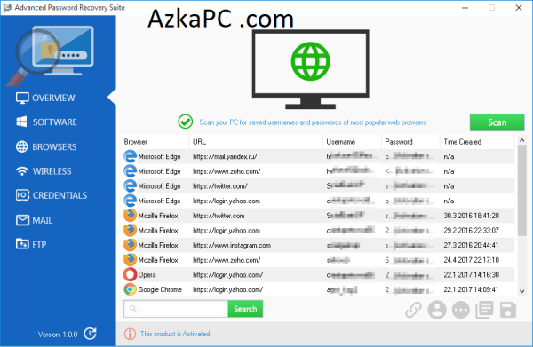 Advanced Password Recovery Suite v1.4.0 Crack {Latest}