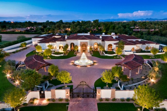 $10.5 million dollar Paradise Valley Estate
