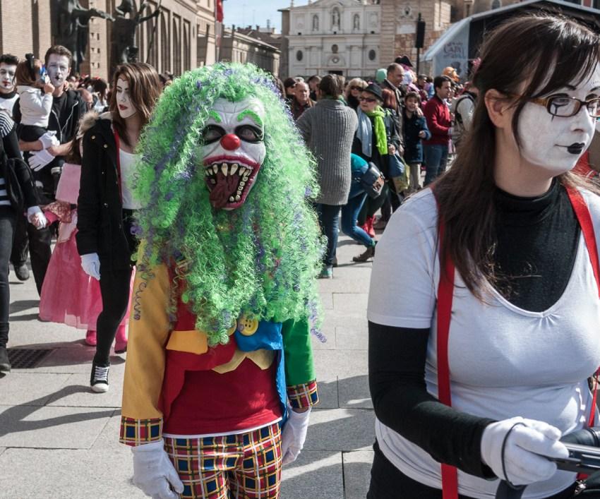 Brincando direitinho você não faz papel de palhaço - nem de monstro - Foto: Gaudencio Garcinuño/ Creative Commons