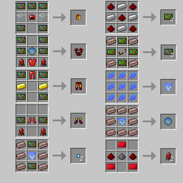 Heroes 6 Crafting Unlimited Mod Minecraft Recipes 1 Super 4