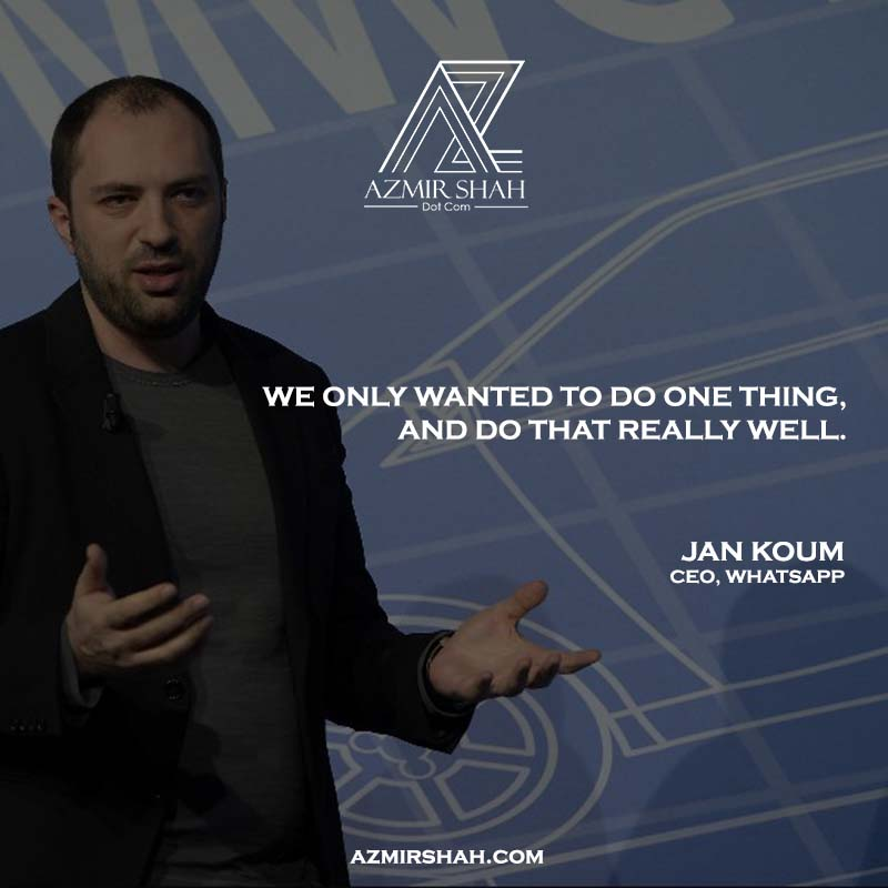 jan koum, jan koum quotes