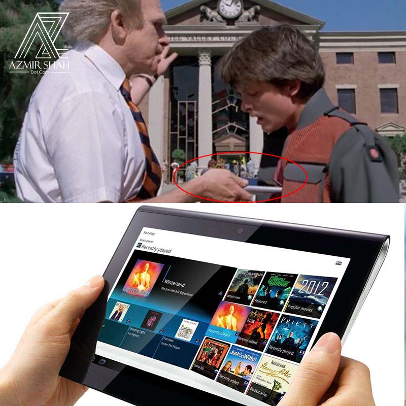 tablets, tablet back to the future