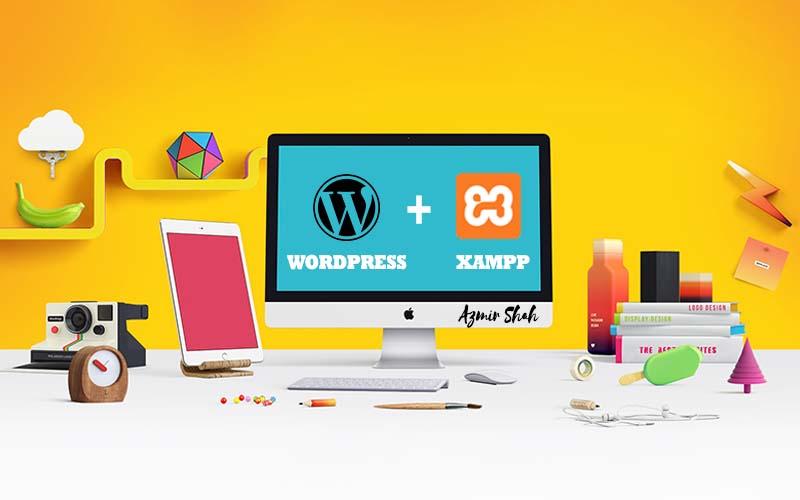 install wordpress localhost, localhost, wordpress localhost, cara install wordpress, wordpress xampp