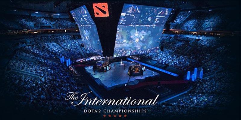 the international, dota 2, ti