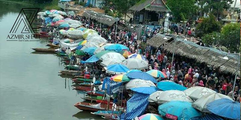 Khlong Hae floating market, pasar hatyai, makan-makan di hatyai