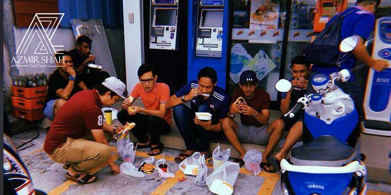 7 eleven hatyai, 7 eleven thailand, makan di hatyai