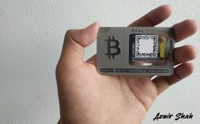 ballet crypto, ulasan offline wallet, simpan bitcoin, mata wang kripto,