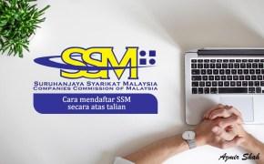 cara dafrar ssm secara atas talian, cara daftar ssm online, register ssm online, daftar enterprise,