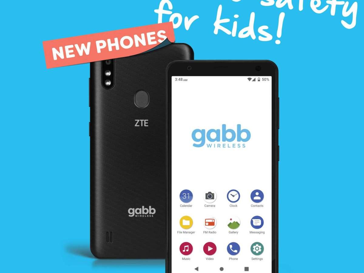 Gabb Wireless safety phone for kids