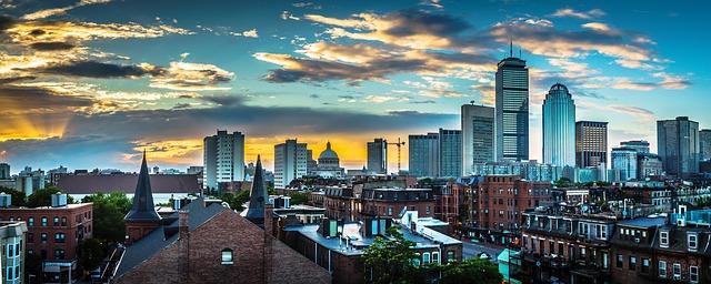 A view of Boston
