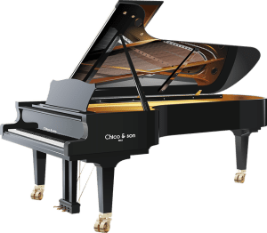 Grand piano that needs very special care when you move music instruments
