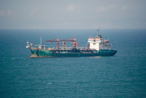 Endurance is one of the main advantages of sea freight, like the one on picture.