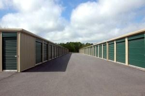 Outdoor storage units.