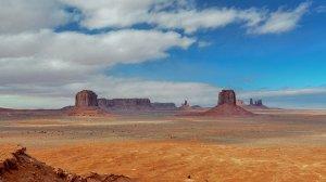The desert in Arizona.