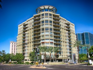 Buildings in Phoenix, one of the fastest growing cities in Arizona.
