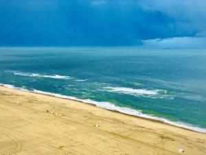 A beach in Virginia Beach.