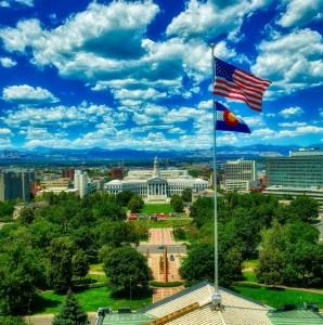 Colorado Flag City Denver