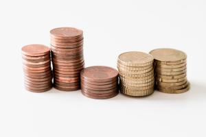 an image of stack coins