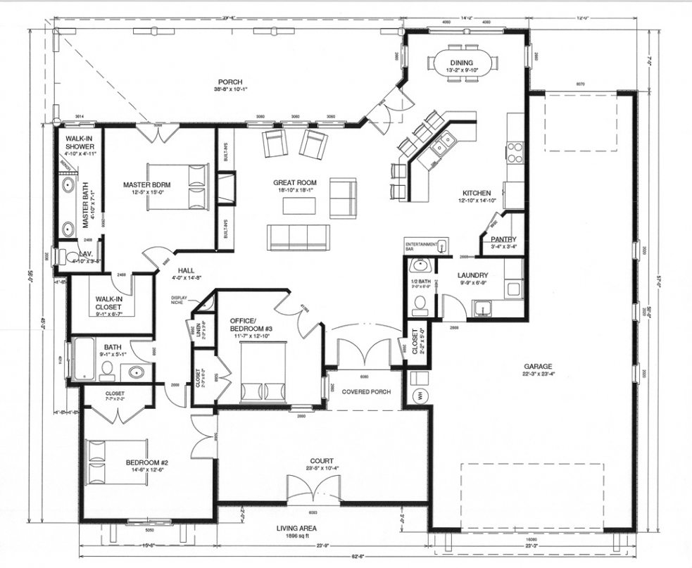 Span-New N Custom Floor Plans [ Virkler Second Floor Plan