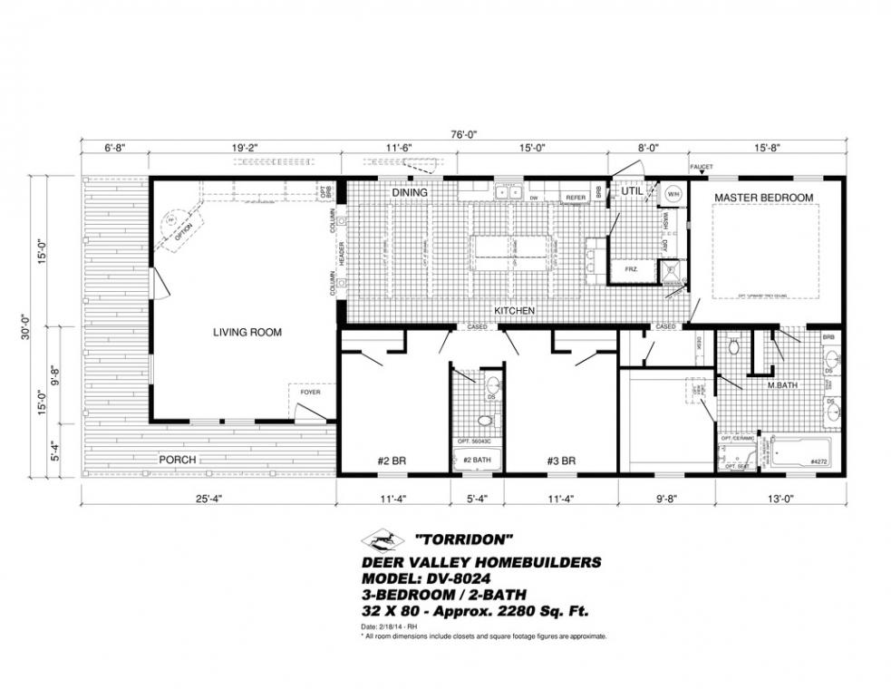 Deer Valley Modular Home Floor Plans