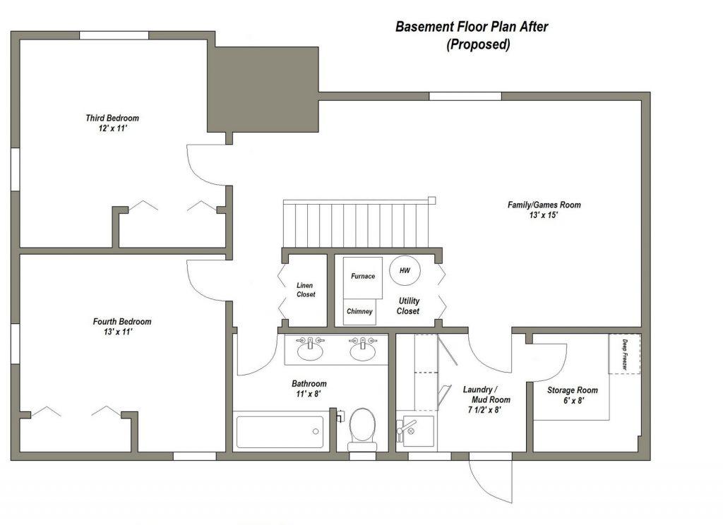 Luxury Home Floor Plans With Basements