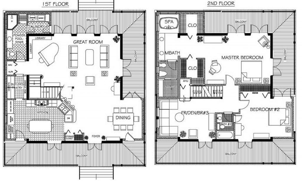 Beautiful Japanese Home Floor Plan
