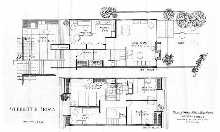 Luxury Mid Century Modern Homes Floor Plans