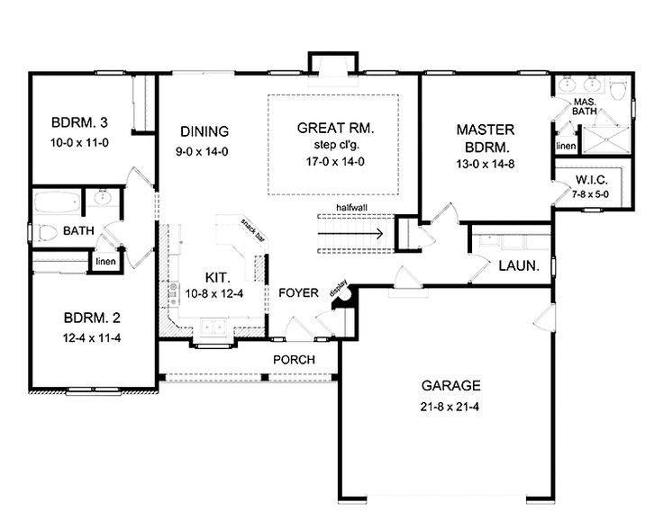 Simple Open Floor Plan Homes Unique Best 25 Simple Floor