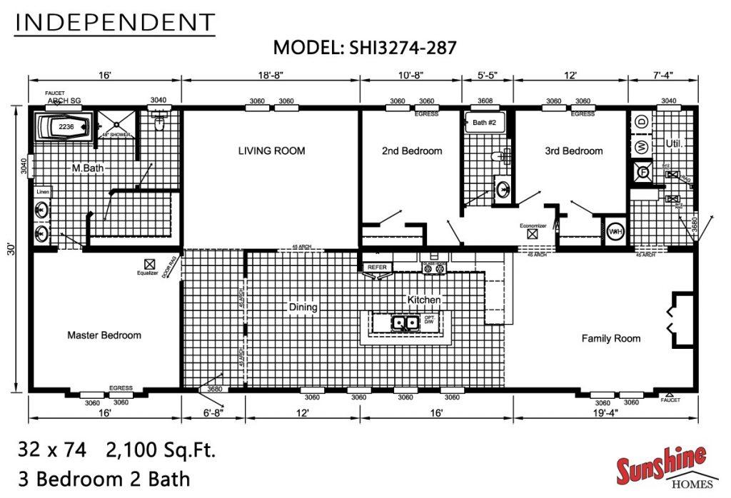 Fresh Sunshine Mobile Home Floor Plans