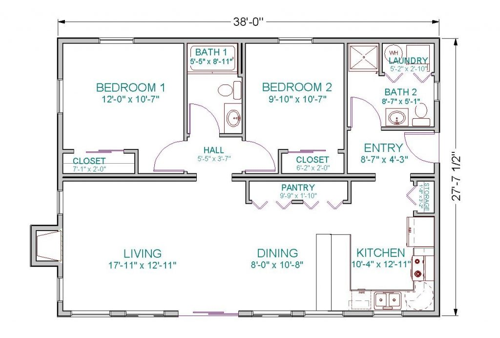 Inspirational Open Floor House Plans Ranch Style